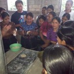 Guatemalan women learn more about new, safe stoves with Friendship Bridge