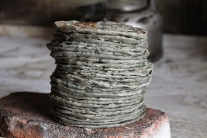 black corn tortillas