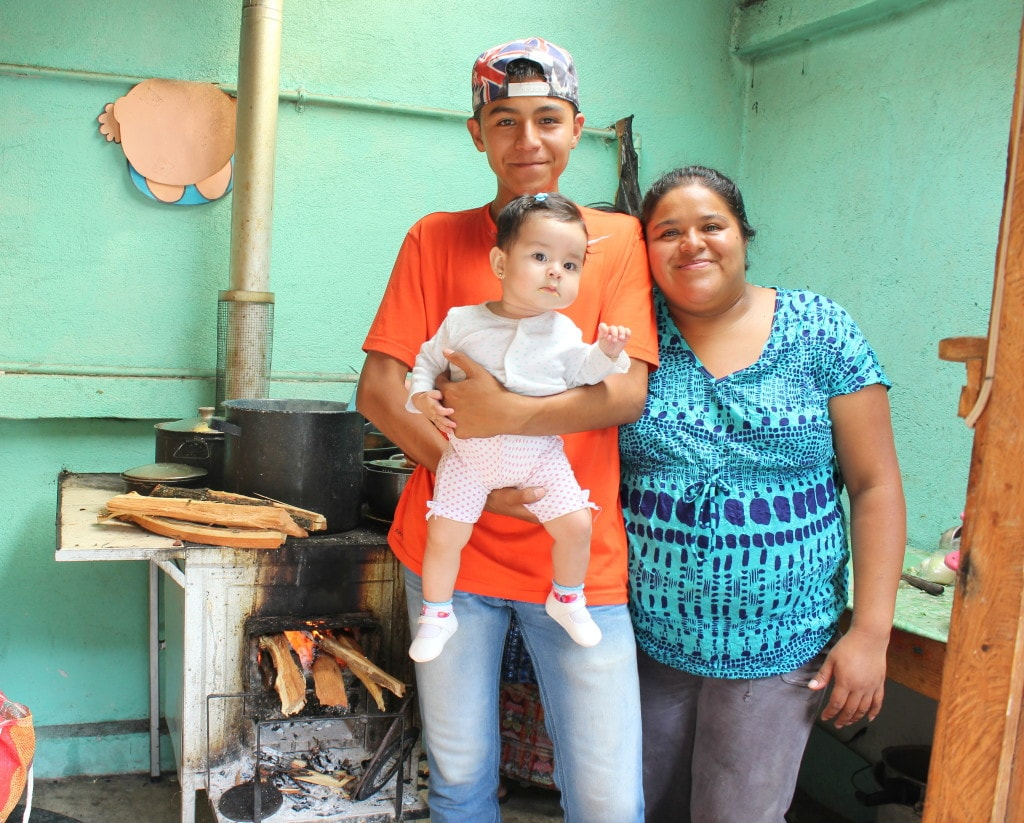 Friendship Bridge client Ana invested in a clean burning, efficient stove. This stove has produced positive health outcomes for her family and her children, and it has also helped her grow her business.