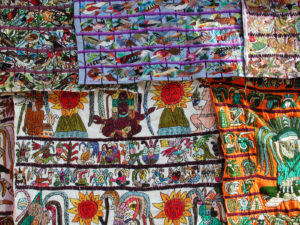 Guatemalan huipiles, sacred weavings