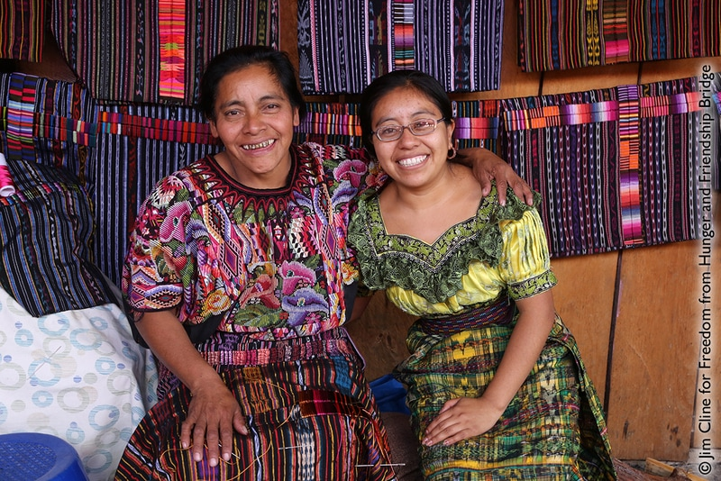 Textile Weaving Artists in Guatemala