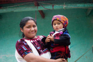 Guatemalan mother