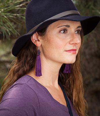 tassle earrings slideshow